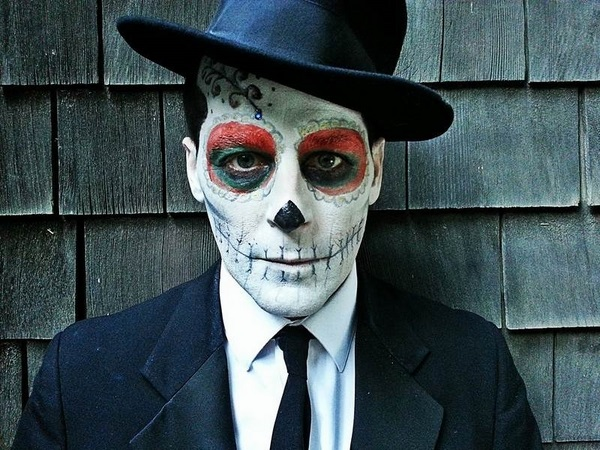 Scary Halloween Makeup For Guys With Beards.60 Best Halloween Makeup Ideas For Men B2b Fashion