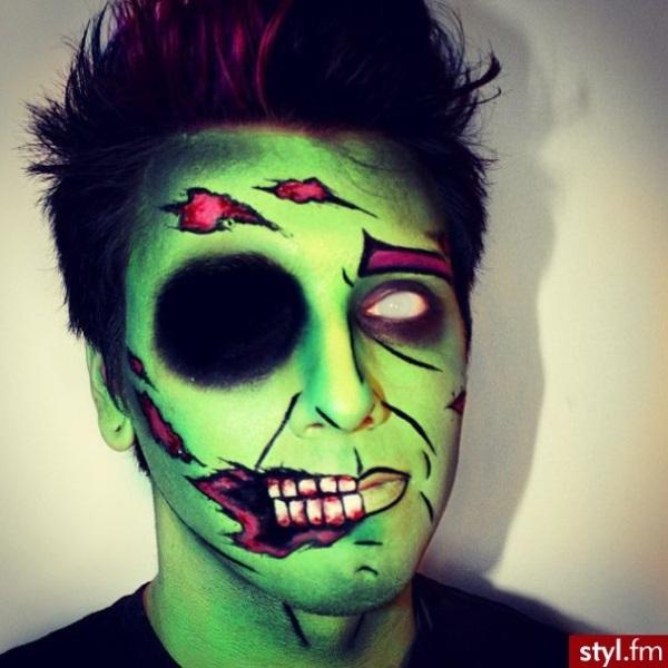 60+ Best Halloween Makeup Ideas For Men