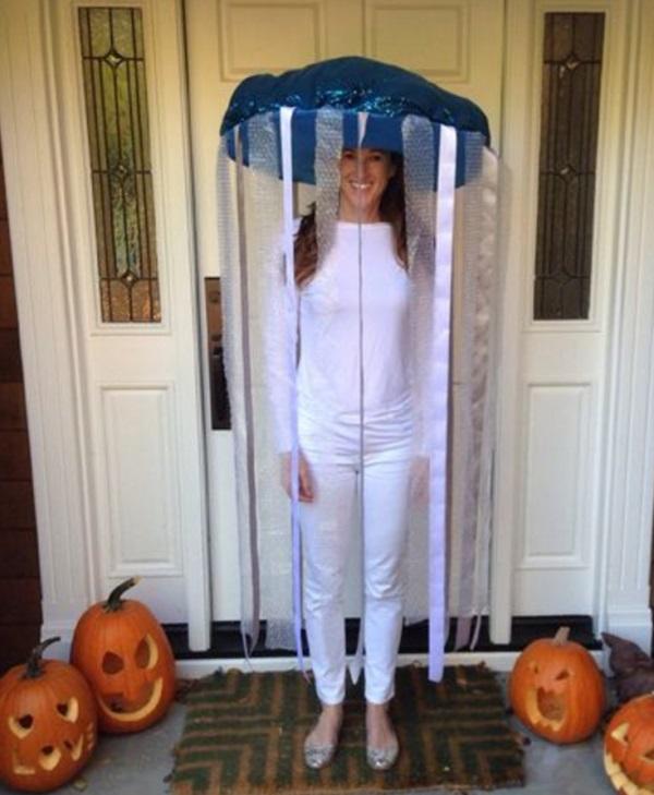 Scary Halloween Fast Food Work Costume