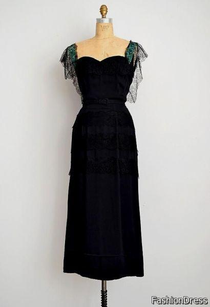 1930's dresses 2017-2018