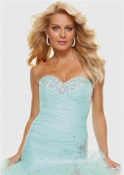 baby blue mermaid dresses 2018