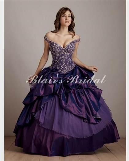 beautiful dark purple dresses 2018