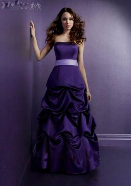 beautiful dark purple dresses 2018