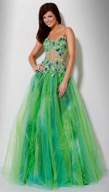 beautiful green prom dresses 2017-2018