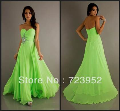 beautiful green prom dresses 2017-2018