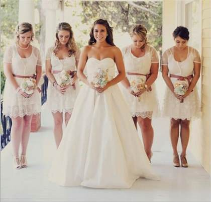 best lace bridesmaid dresses 2017-2018