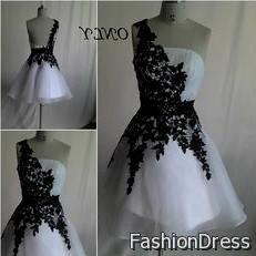 black cocktail dresses for prom 2017-2018