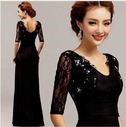 black party dresses for women 2017-2018