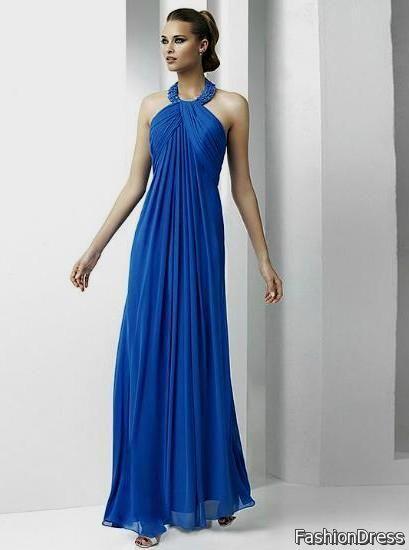 blue cocktail dress for wedding 2017-2018