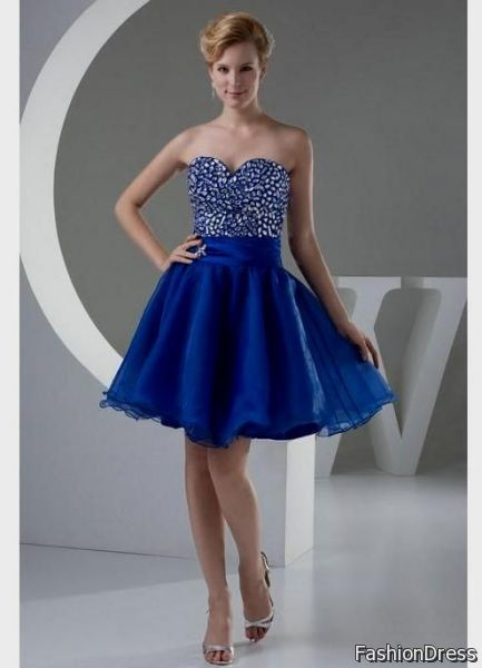 blue prom cocktail dresses 2012 2017-2018