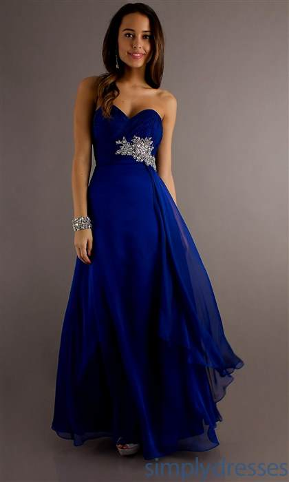 bright blue bridesmaid dresses 2017-2018