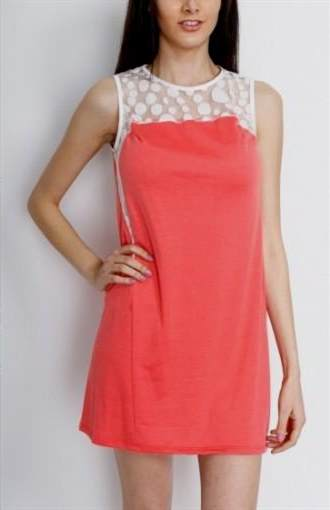 casual coral dresses 2017-2018
