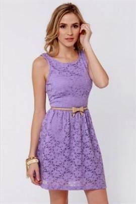 casual light purple dress 2017-2018
