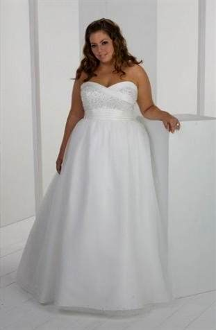 casual plus size wedding dress 2018 | B2B Fashion