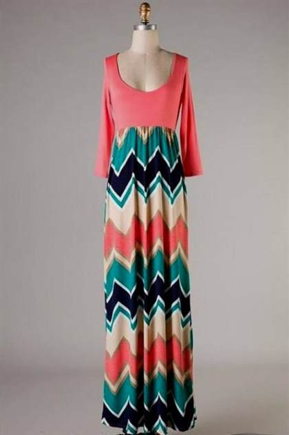 chevron maxi dresses plus size 2017-2018