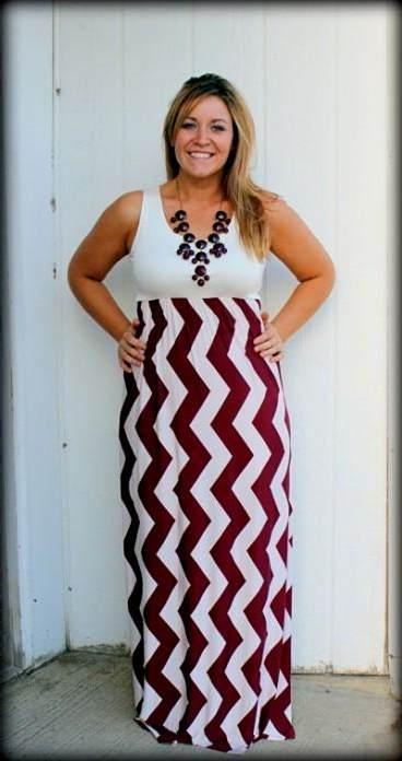 chevron maxi dresses plus size 2017-2018