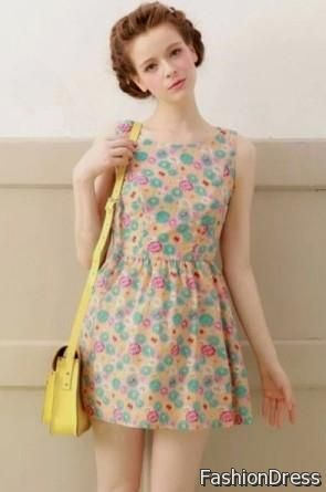 cute short summer dresses for teenagers 2017-2018