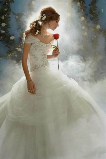 Disney Princess Wedding Dresses Belle 2017 2018 B2b Fashion