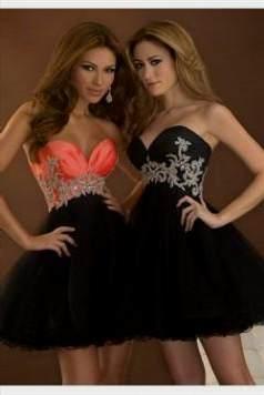 elegant black cocktail dress 2017-2018