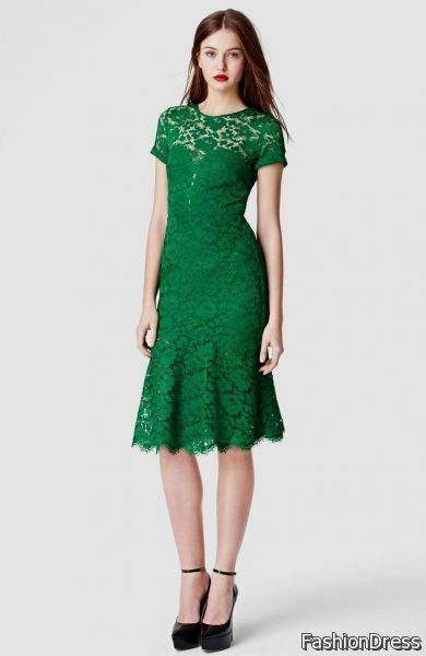8197d8c1353 emerald green lace cocktail dress 2017-2018