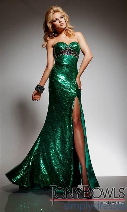emerald mermaid prom dresses 2018