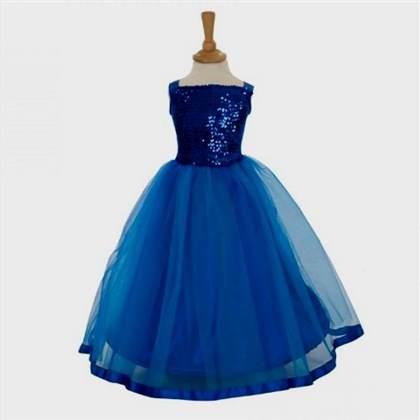 fancy blue dresses for girls 2017-2018