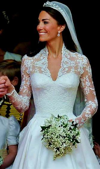 Kate Middleton Wedding Dress Replica Davids Bridal