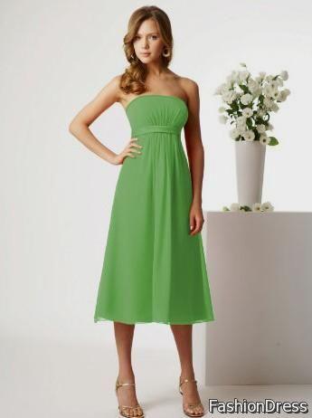 kelly green bridesmaid dress 2017-2018