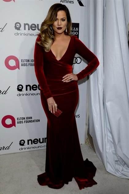 Khloe Kardashian Red Carpet Dresses 2017 2018