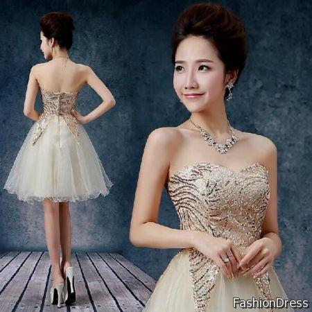 korean cocktail dress for teenage girls 2017-2018