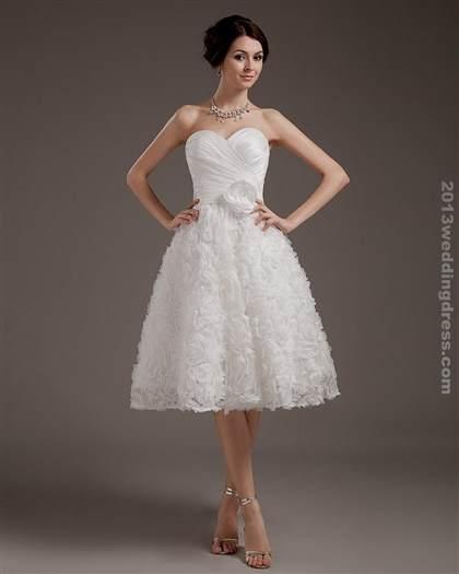 lace short wedding dress 2018