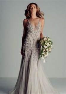 light grey wedding dress 2018 | B2B Fashion
