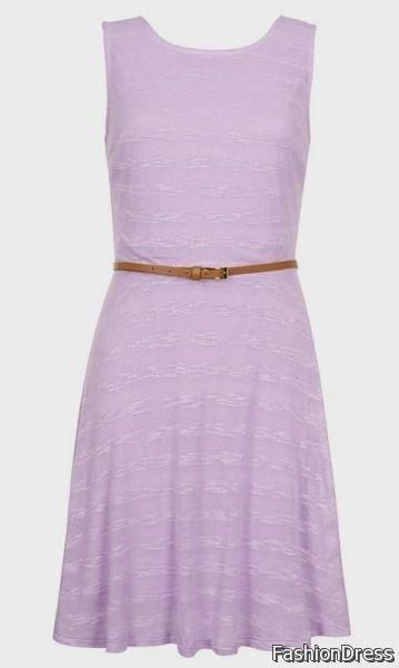 lilac casual dress 2017-2018