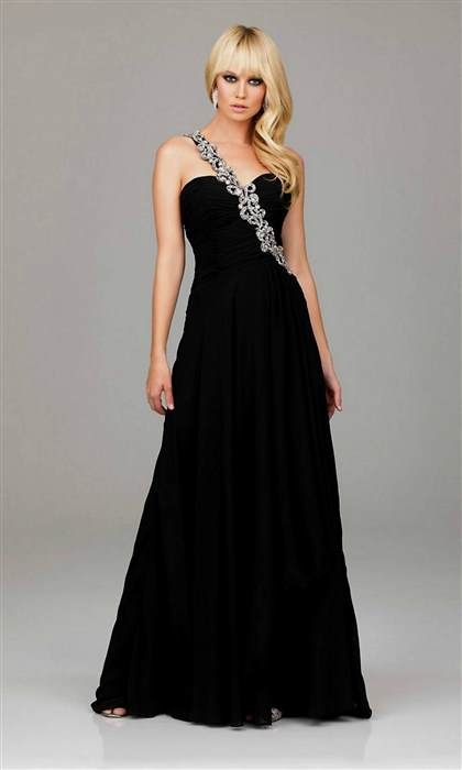 long black dress for prom 2017-2018
