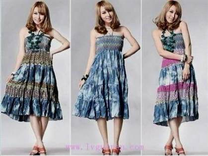 long casual dresses for girls 2017-2018