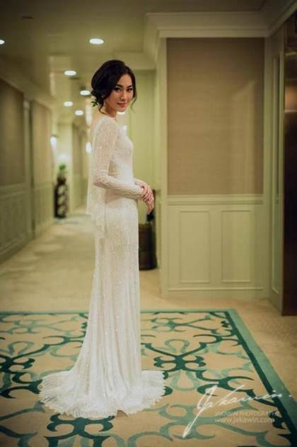 long fitted wedding dresses 2017-2018