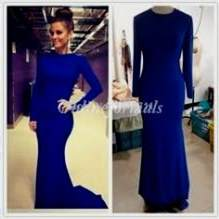 long sleeve prom dress 2018