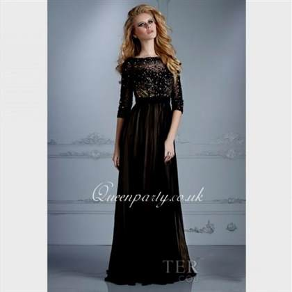 long sleeve prom dress 2018