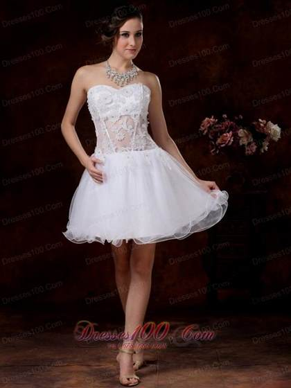 long white dama dresses for quinceanera 2017-2018