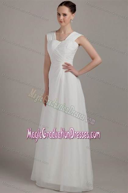 c59c89b90e8 Long White Graduation Dresses For 8th Grade - Photo Dress Wallpaper ...