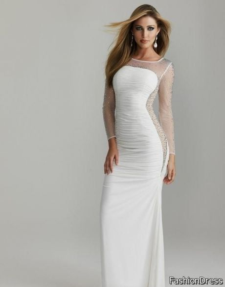 long white sundresses 2017-2018