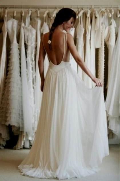 low back beach wedding dress 2017-2018 | B2B Fashion