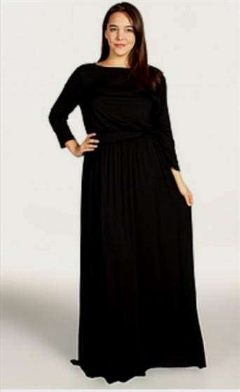 maxi dress with sleeves plus size 2017-2018