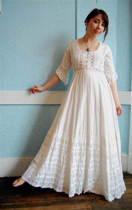 mexican cotton wedding dress 2017-2018 | B2B Fashion
