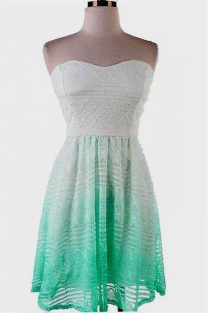 mint lace summer dress 2017-2018
