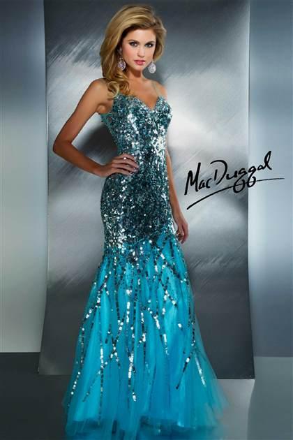 neon blue prom dresses 2017-2018