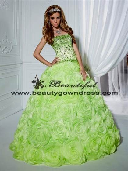 neon green quince dresses 2017-2018