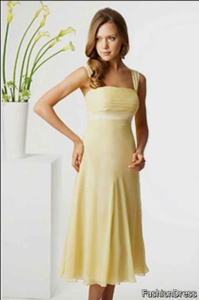 pale yellow summer dress 2017-2018