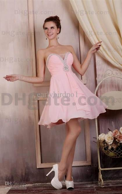 pink cocktail dresses 2013 2017-2018