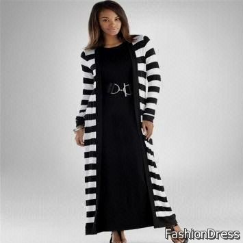 plus size long sleeve casual dresses 2017-2018